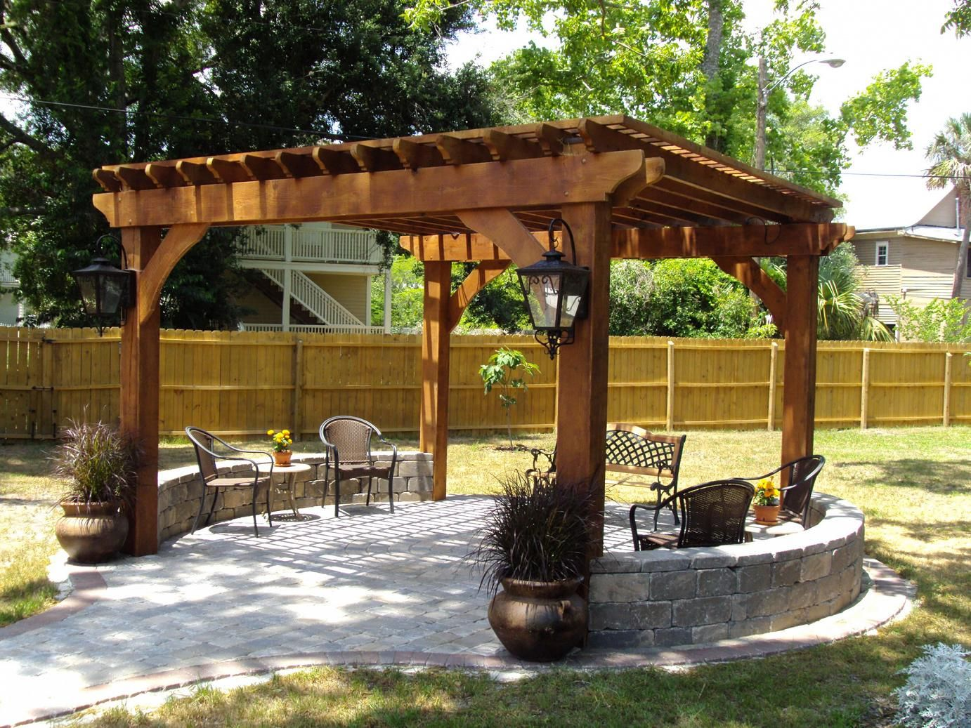 Outdoor Pergolas-Grand Prairie TX Landscape Designs & Outdoor Living Areas-We offer Landscape Design, Outdoor Patios & Pergolas, Outdoor Living Spaces, Stonescapes, Residential & Commercial Landscaping, Irrigation Installation & Repairs, Drainage Systems, Landscape Lighting, Outdoor Living Spaces, Tree Service, Lawn Service, and more.